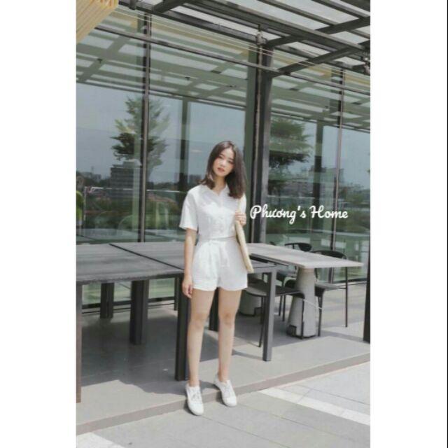 Set đồ tone trắng cực xinh 🔻 TONE TRẮNG