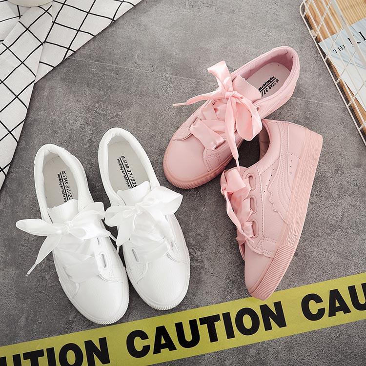 Giày nữ thắt nơ dáng đẹp