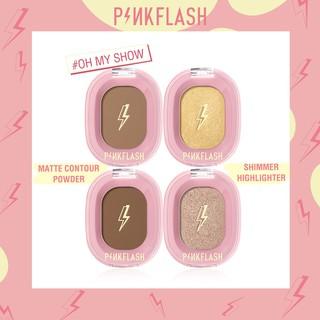 Phấn bắt sáng lấp lánh mềm mịn 4 màu tùy chọn Pinkflash thumbnail