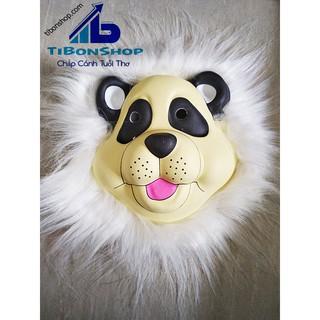 Halloween Mặt Nạ Thú Xốp-gấu trúc panda