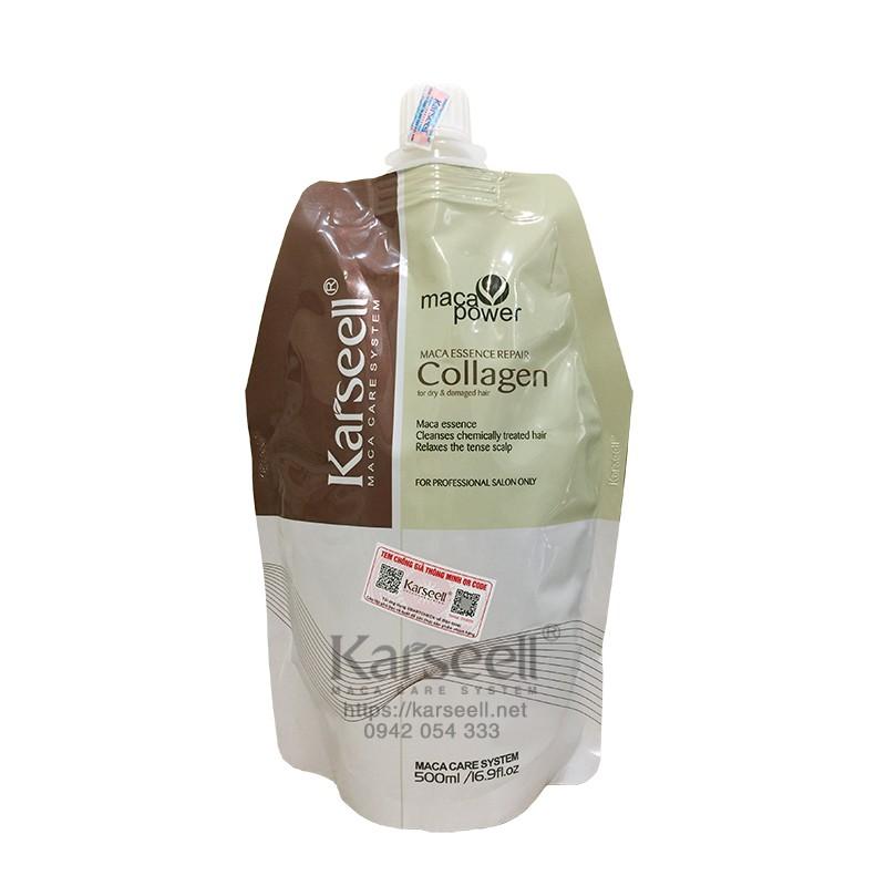 Ủ tóc Collagen karseell siêu phục hồi (đủ tem)