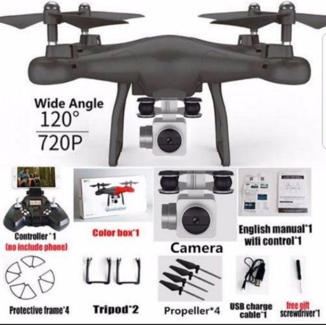 Máy bay flycam s10 hd wifi