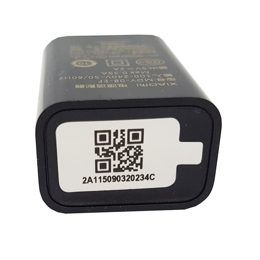 FREESHIP ĐƠN 99K_Combo sạc Xiaomi 5V/2A MDY-08-EF và cáp Xiaomi USB Type C 1 mét 2