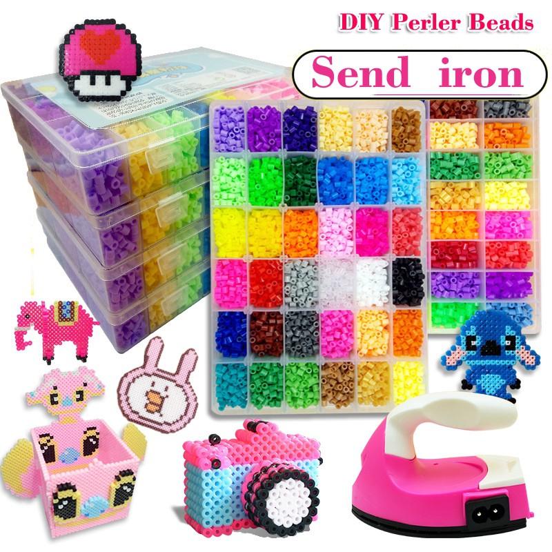 Bộ hạt đồ chơi để thiết kế nhiều hình dáng sáng tạo thủ công