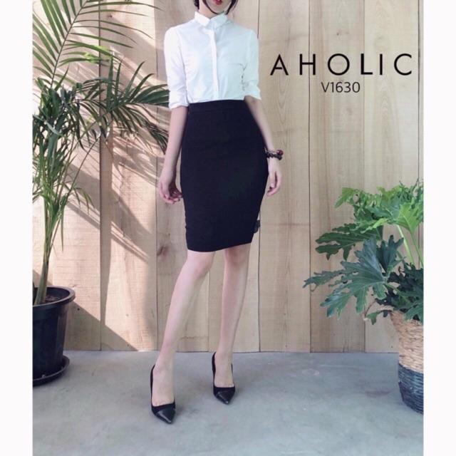 Chân váy công sở hàng xuất dư chất Umi Hàn siêu xịn ( ảnh thật)