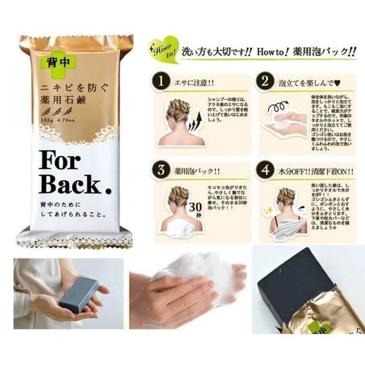 Xà Phòng Mụn Lưng For Back Nhật Bản
