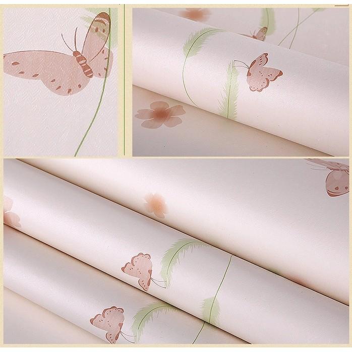 Decal giấy dán tường bướm hồng - 3160347 , 287629027 , 322_287629027 , 16000 , Decal-giay-dan-tuong-buom-hong-322_287629027 , shopee.vn , Decal giấy dán tường bướm hồng