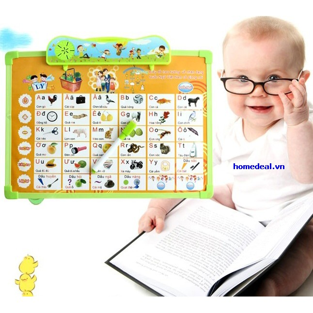 bảng học chữ cái điện tử thông minh