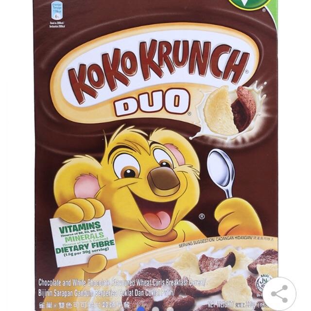 Ngũ Cốc Ăn Sáng Koko Krunch Duo Nestlé Hộp 330G