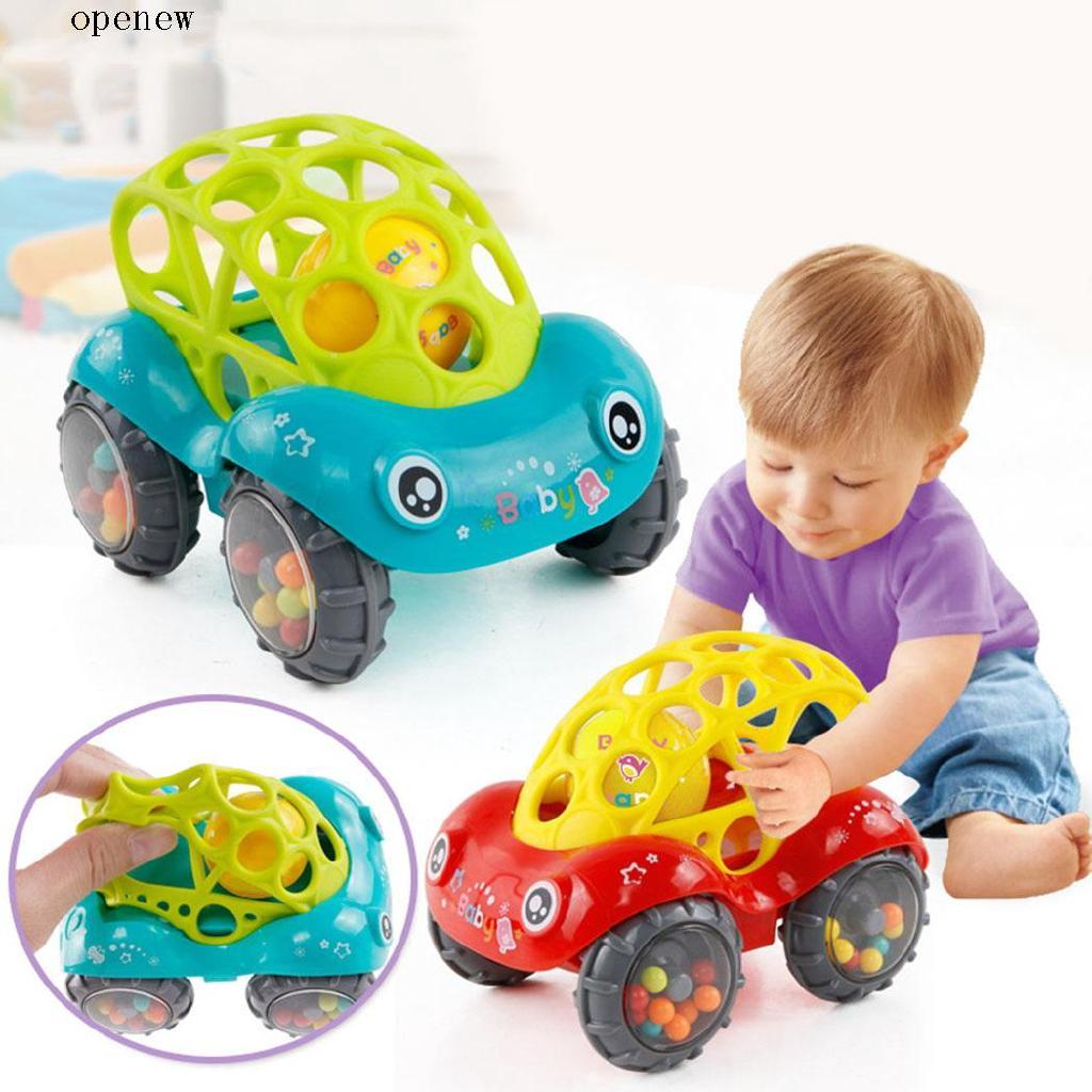 op Baby Unisex Soft Car Shaking Bell Rattles Toys Kids Fun Toys