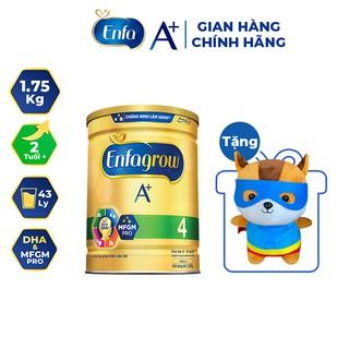"""[Tặng Sóc Siêu Nhân Enfa] Sữa Bột Enfagrow A+ 4 1.75kg (2 Tuổi +) giá chỉ còn <strong class=""""price"""">75.900.000.000đ</strong>"""