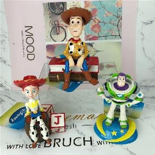 Mô Hình Nhân Vật Woody Buzz Lightyear Trang Trí Bàn Làm Việc