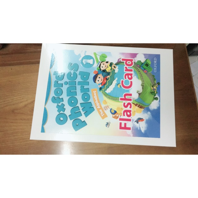 In flashcard Oxford Phonics World