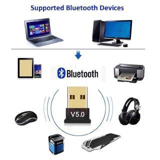 Dongle Usb Bluetooth 5.0 Thu Nhận Tín Hiệu Âm Thanh Không Dây