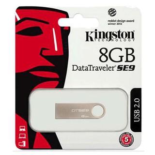 (Bảo Hành 1 đổi 1) USB 8GB Kingston SE9 2.0 Nhỏ Gọn Vỏ Kim Loại Chống Nước