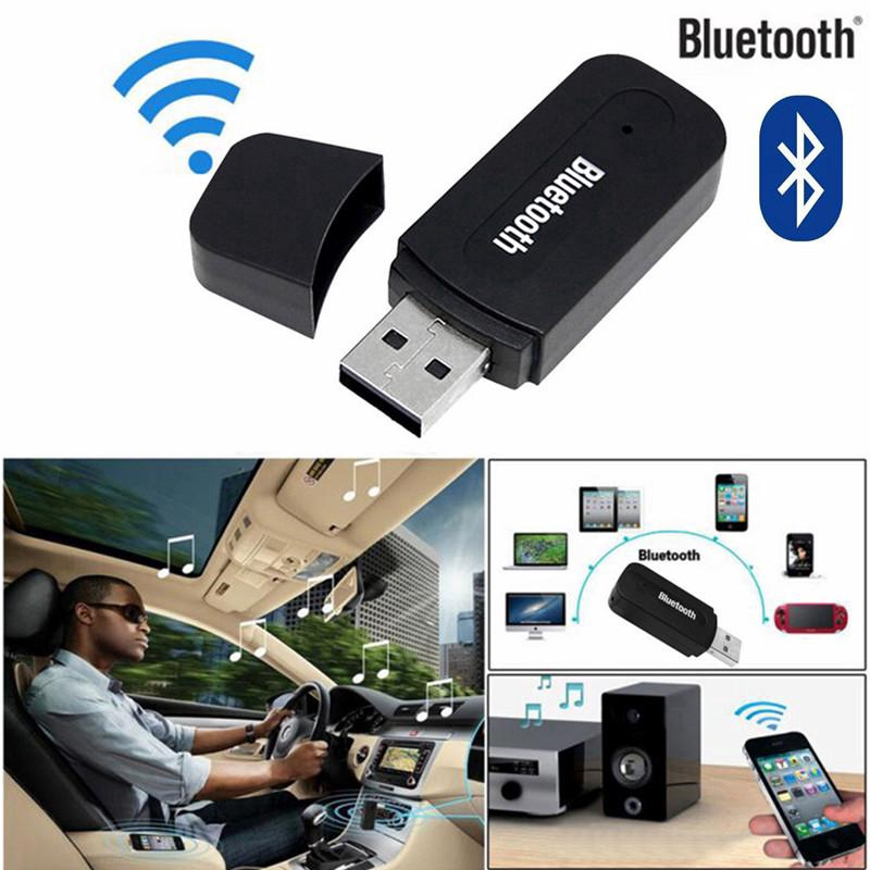 3.5mm Bluetooth Aux Audio Wireless USB Stereo Music Speaker Receiver Adapter Giá chỉ 20.863₫