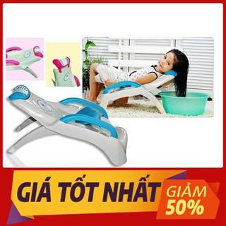 Ghế Gội Đầu Cho Bé Có Tay Vịn Nhựa Cao Cấp Việt Nhật - ghế tắm gội cho bé tiện lợi thumbnail