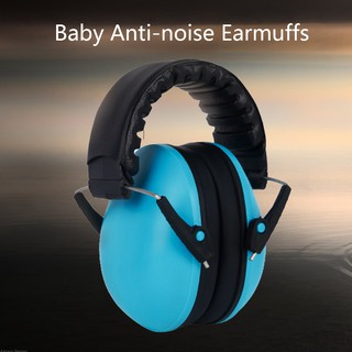 Baby Earmuffs Adjustable Hearing Protector Soft Noise Reduction Toddler Ear Muffs Infant