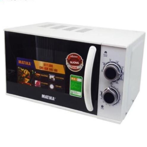 [Hàng mới về]Lò vi sóng 20L Matika MTK-9220 có 3 chức năng: Nướng, hâm nóng, rã đông thức ăn tự cài đặt theo trọng lượng