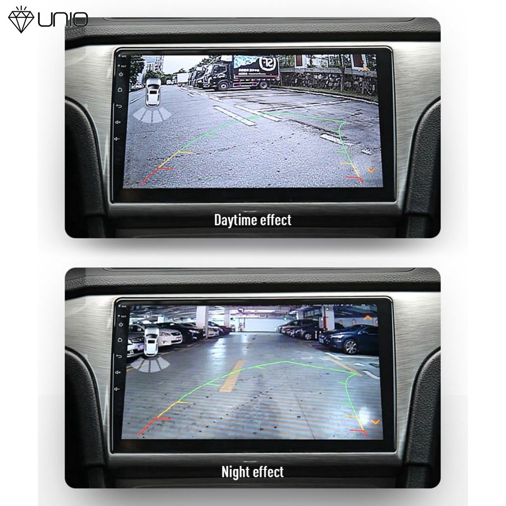 UNIO HD night vision 8LED fill light car rear view camera mini parking backup camera