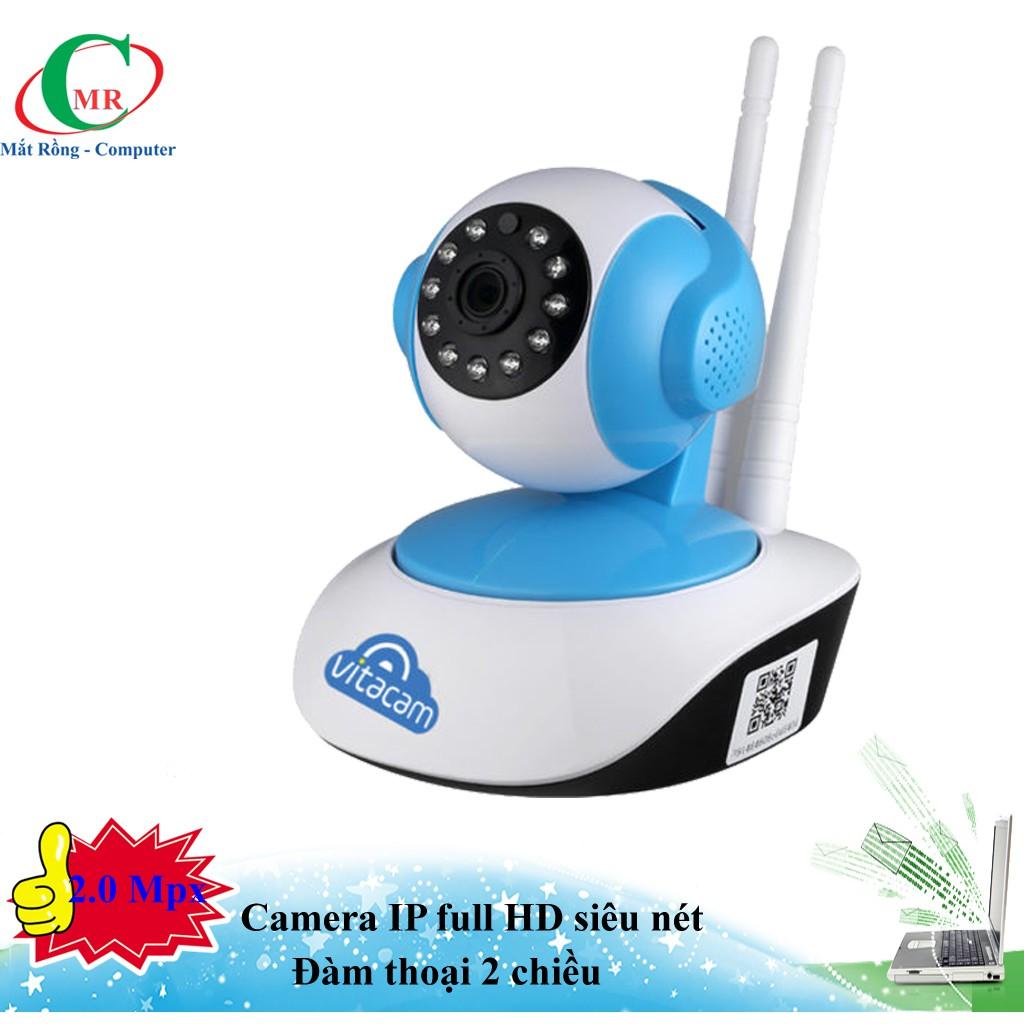 VT1080 – Camera Ip Wifi 1080P – 2.0Mpx Full HD – Xoay 355 độ, đàm thoại 2 chiều