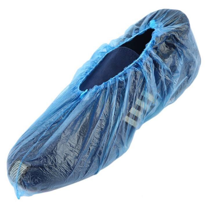 Set 100 Túi Bọc Giày Đi Mưa Sử Dụng 1 Lần/ Túi Nilong Đi Giày Chống Nước Mưa 88255 shop tiện ích