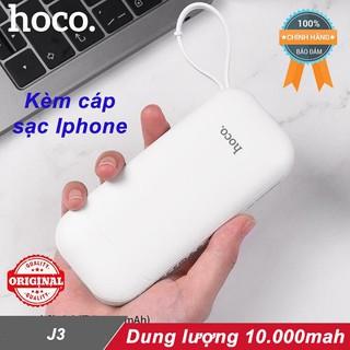 Sạc dự phòng Hoco CJ3 10.000mah ♥️Freeship♥️ Pin sạc dự phòng Hoco