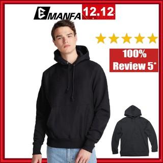Áo Hoodie Nam Vải Nỉ Cotton Đẹp Chất Dài Tay Form Rộng Hàn Quốc 1 Màu Trắng Trơn Đủ Màu Đủ Size M L XL 2XL