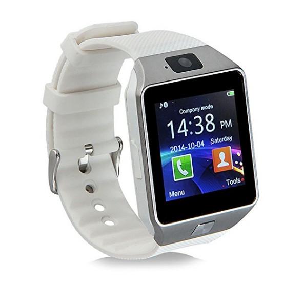 Mới điện thoại  Đồng hồ thông minh Smart Watch Uwatch DZ thế hệ mới và hiện đại giá rẻ (trắng)