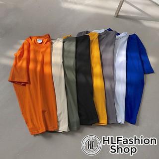 Áo thun trơn tay lỡ form rộng, áo nữ HLFashion thumbnail