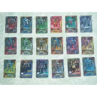 Kamen Rider Build Character Card Collection Full bộ 18 thẻ ( bổ xung)