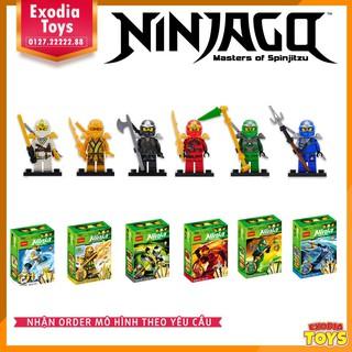 Bộ 6 minifigure Ninjago XZ – Ninjago: Masters of Spinjitzu – DECOOL [10011 – 10016]