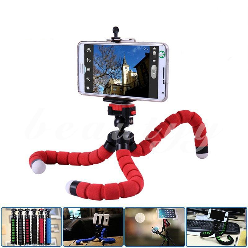 Mini Sponge Tripod Digital Camera Mobile Phone Stand Holder Universal 3 Colors