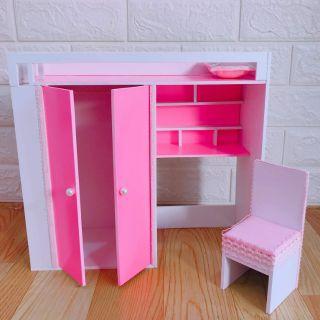Mô hình giường tủ thông minh cho búp bê