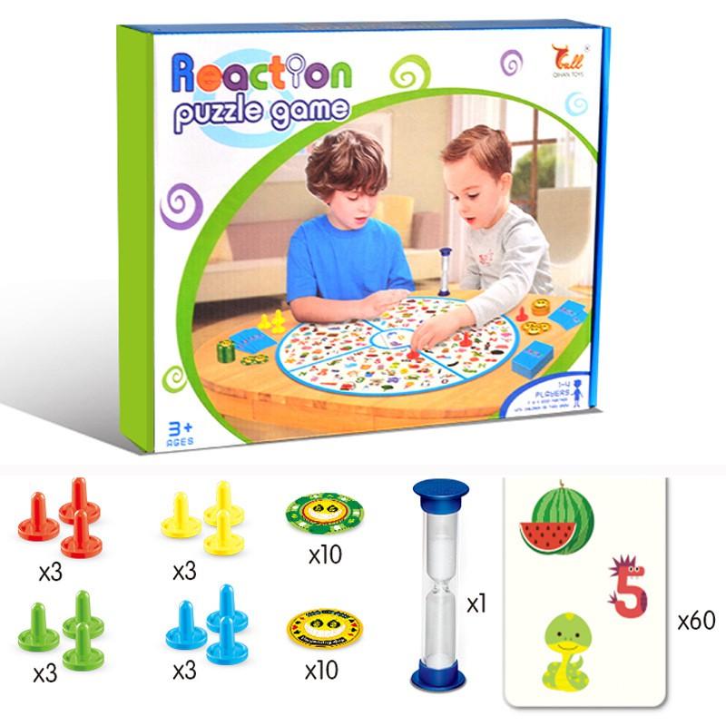 Bộ trò chơi nhanh tay lẹ mắt – Reaction puzzle game