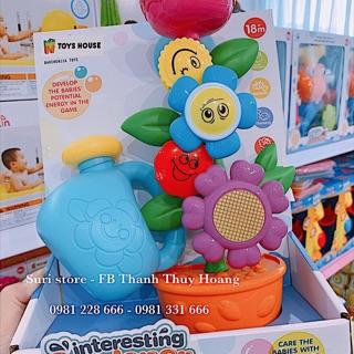 Đồ chơi nhà tắm hình bông hoa Toyhouse