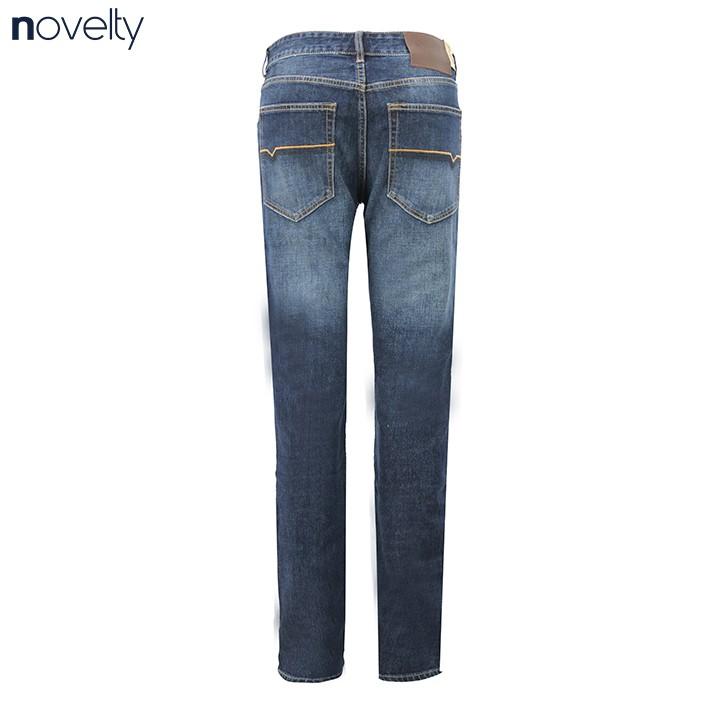 Quần Jeans dài nam Novelty ống suông NQJMMTNCSI1701190