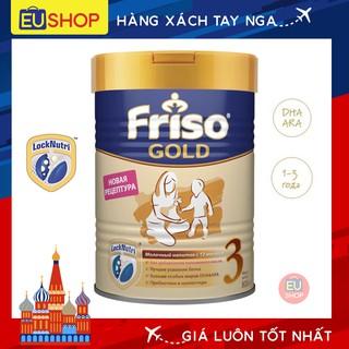 Sữa bột Friso Gold Nga với DHA ARA phát triển trí não và thị lực cho trẻ Số 03 Hộp 800G thumbnail