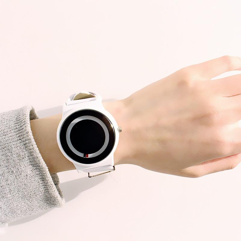 (Giá sỉ)Đồng hồ thời trang nam nữ PinPo 2 kim phong cách Hàn