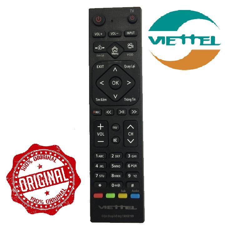 Remote điều khiển đầu thu Viettel internet - Remote Viettel