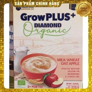 Bột Ăn Dặm NutriFood Growplus Diamond Organic Yến Mạch Lúa Mì Táo Sữa, Gạo Sữa, Gạo Chuối S NGỌC KHÁNH MILK
