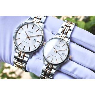 Đồng hồ cặp đôi nam nữ Orient FUNG8001W0 & FUNG7001W0 thumbnail