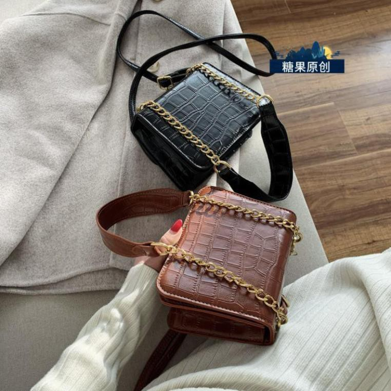 ( ẢNH THẬT ) Túi xách nữ đeo chéo SUKA NHỎ XINH da mềm