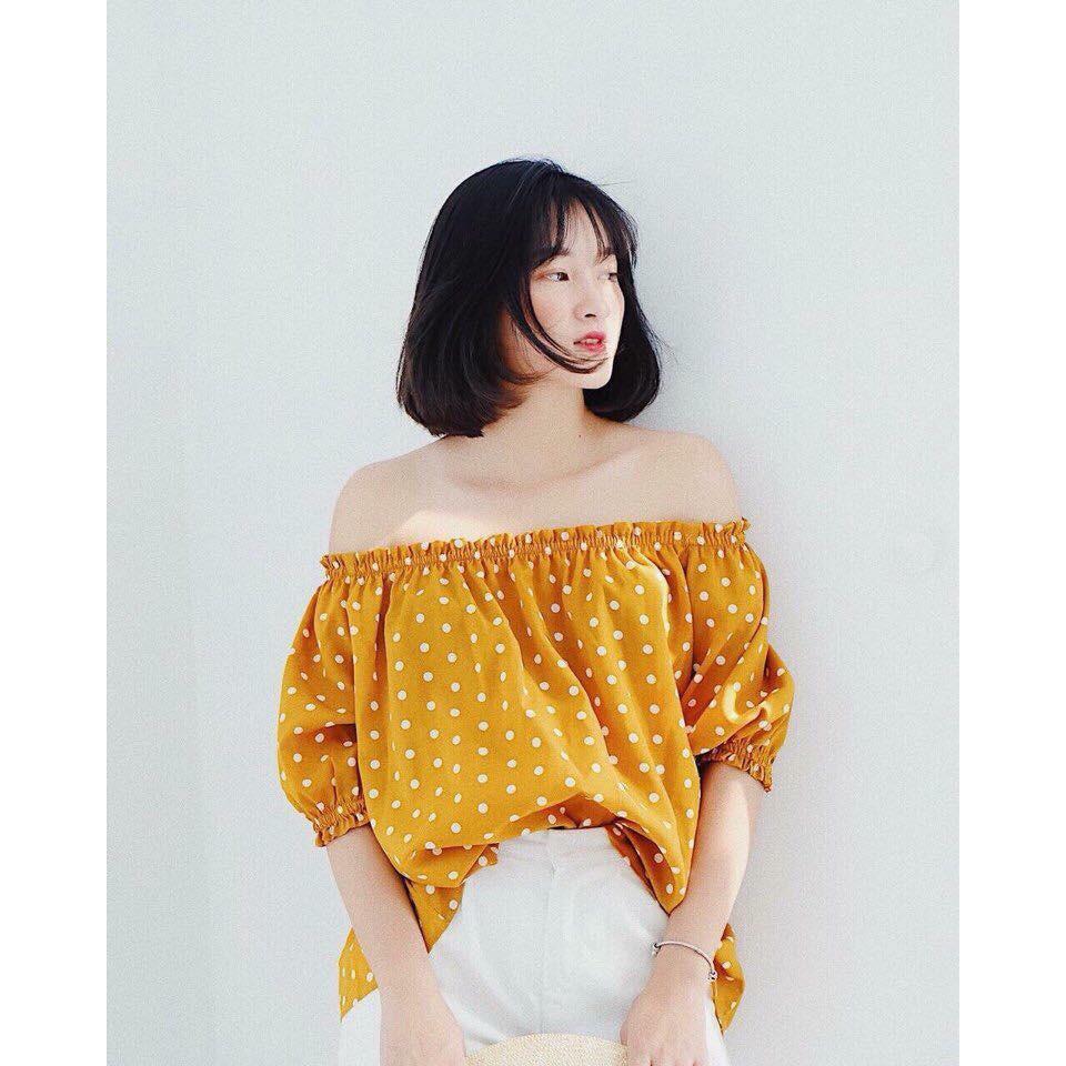 Moehn - Mẫu áo trễ vai xinh nhất hè 2018