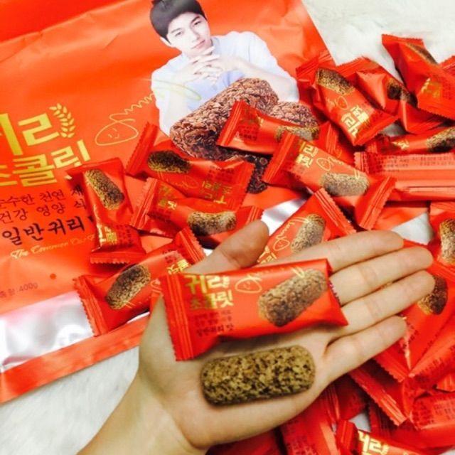 [Sẵn HCM] Combo 06 gói Bánh Yến socola mạch Cao cấp 400gram