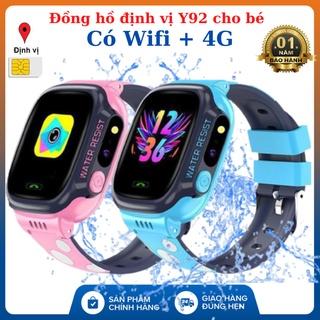 Đồng Hồ Định Vị Trẻ Em Y92 - Lắp Sim Nghe Gọi, Định Vị LPS, 4G WIFI - Kháng Nước IP67 thumbnail