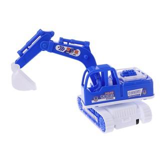 Inertia Engineering Vehicle Model Excavator Bulldozer Car Truck Kids Toy gift