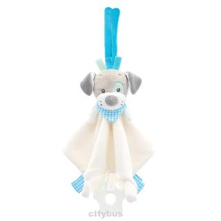 Animal Shaped Anti Fade Bed Car Hanging Cartoon Early Education Eco Friendly Non Toxic Sleep Baby Rattle Toy
