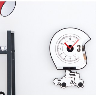[ New item] Đồng hồ treo tường, đồng hồ trang trí nhà cửa decor phòng hình cô gái đi xe – Bike Girl wall clock
