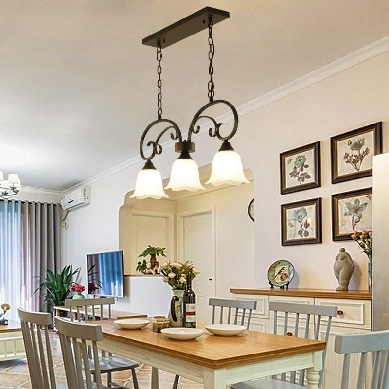 Đèn thả MONSKY MANGAN trang trí nội thất, phong cách cổ điển - kèm bóng LED chuyên dụng